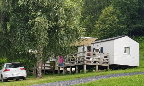 Camping les Chataigniers - mobil-home BAMBI-min