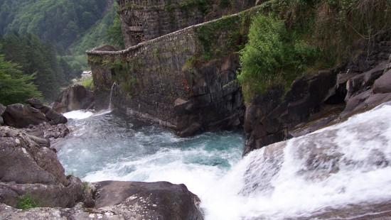 Camping les Chataigniers-arcizans avant - argelès gazost - Cascades du Pont d'Espagne