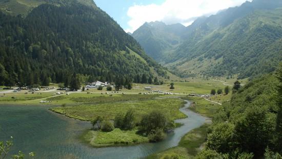 Camping les Chataigniers-arcizans avant - argelès gazost - Lac d'Estaing-min
