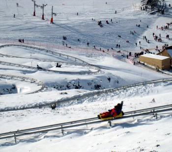 Camping les Chataigniers-arcizans avant - argelès gazost - Station de ski du Hautacam