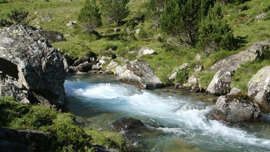 Camping les Chataigniers-arcizans avant - argelès gazost - Torrent des Pyrénées-min