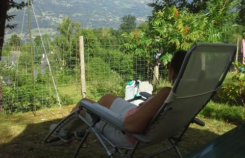 Camping les Chataigniers-arcizans avant - argelès gazost - emplacements calmes - repos