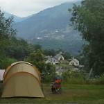 Camping les Chataigniers-arcizans avant - argelès gazost - emplacements spacieux et vue1