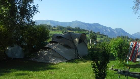 Camping les Chataigniers-arcizans avant - argelès gazost - emplacements spacieux2