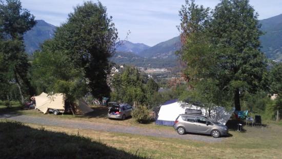 Camping les Chataigniers-arcizans avant - argelès gazost - emplacements spacieux5