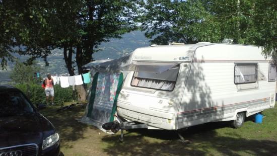 Camping les Chataigniers-arcizans avant - argelès gazost - emplacements spacieux7